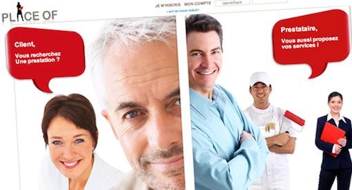 PlaceOf - Recherche d'un prestataire de services ?