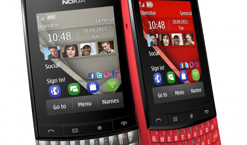 Nokia Asha 303 / Windows Phone