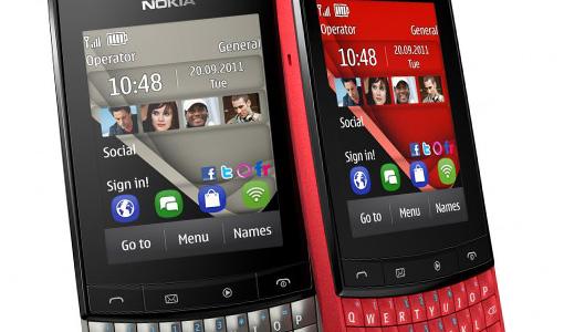 Nokia Asha 303 / Windows Phone