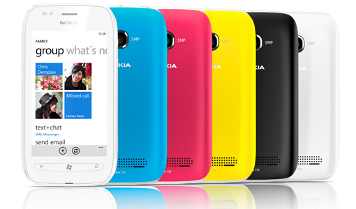 Smartphone Nokia Lumia 710 / Windows Phone