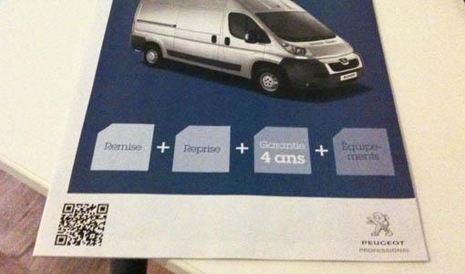QR Code Peugeot