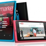 Smartphone Nokia Lumina 800 sous Windows Phone